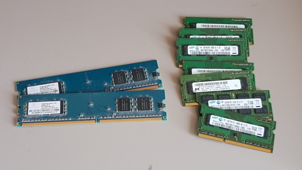 Ram and memory Upgrades