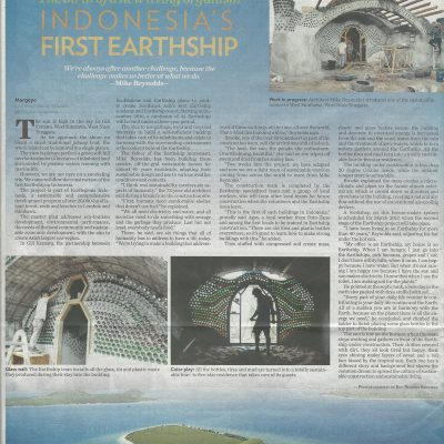 The Jakarta Post_Indonesia's First Earthship