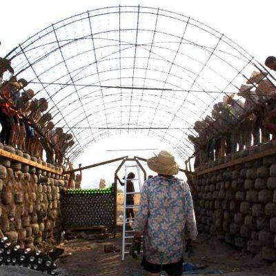 Indonesia's First Earthship
