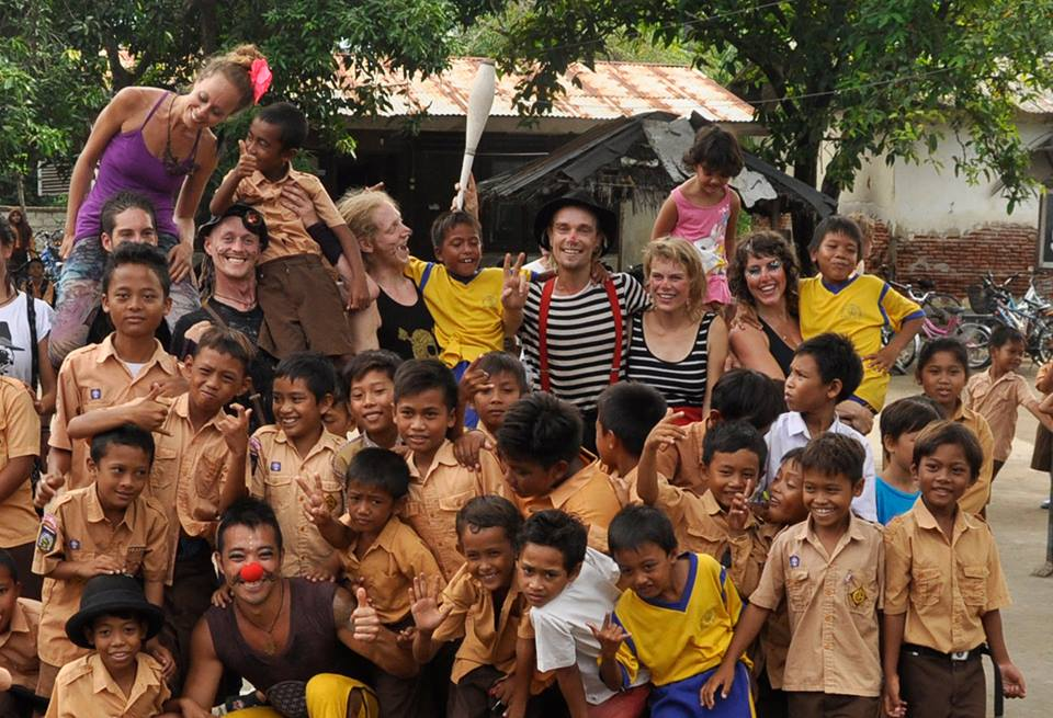 Circus Show in Gili Air primary school!