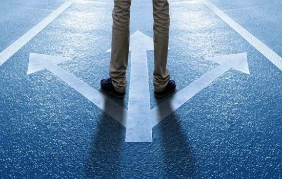 beslutninger og valg