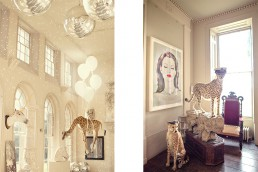 Interior photography at Aynhoe Park.