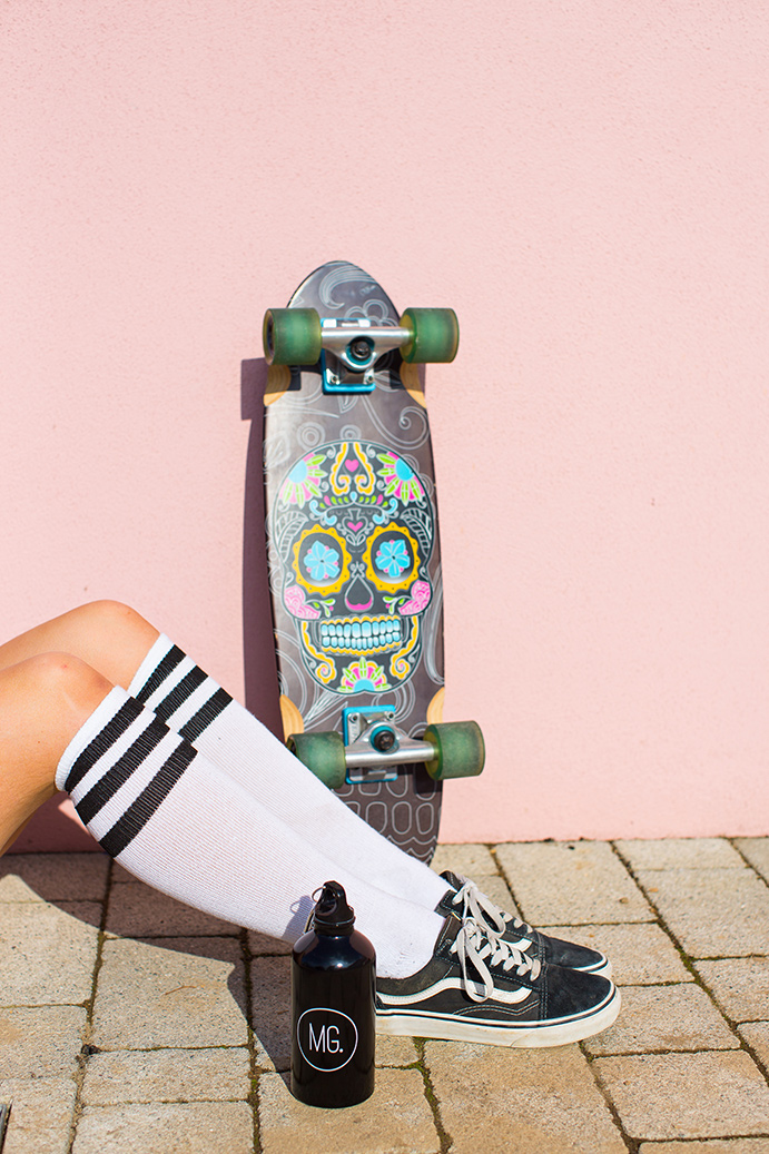 Monthly Gift Apparel Skater Girl Look Book. Product and Lifestyle Photography by Marianne Taylor.