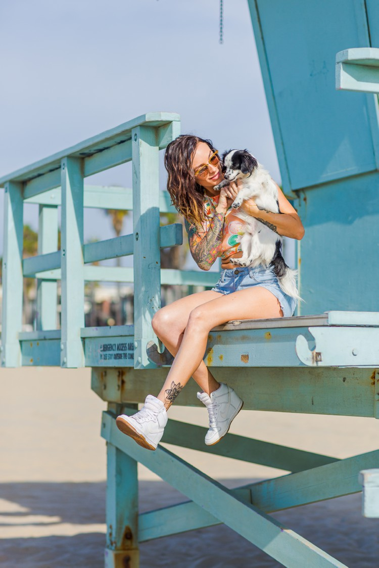 California Venice Beach lifestyle photography by Marianne Taylor. Click through to see more!