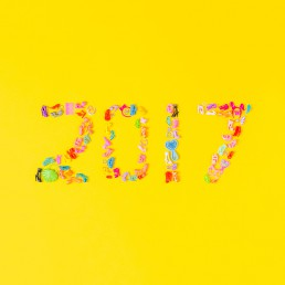 Happy New Year. Colourful content creation. Photography by Marianne Taylor.