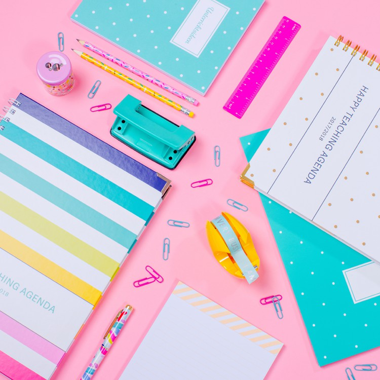 Colourful product photography for The Happy Teaching Company by Marianne Taylor.