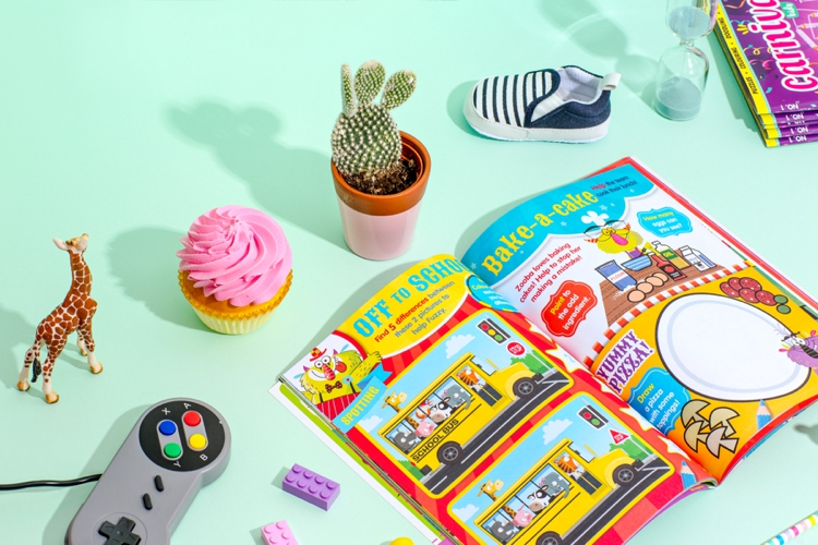Colourful product photography and styling by Marianne Taylor.