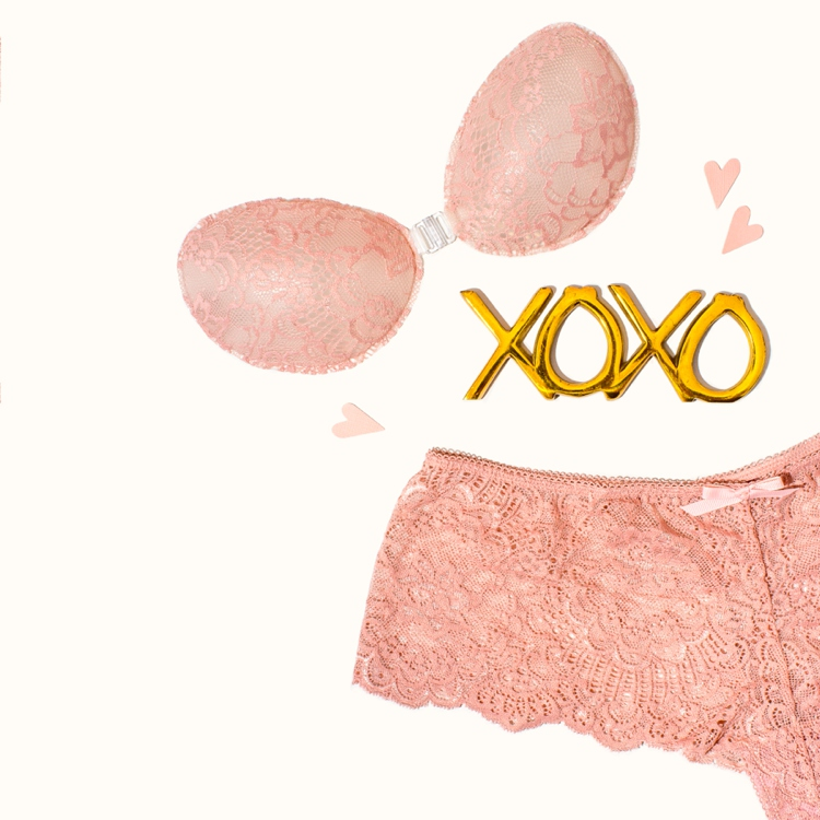 Colourful product photography and styling of lingerie by Marianne Taylor.