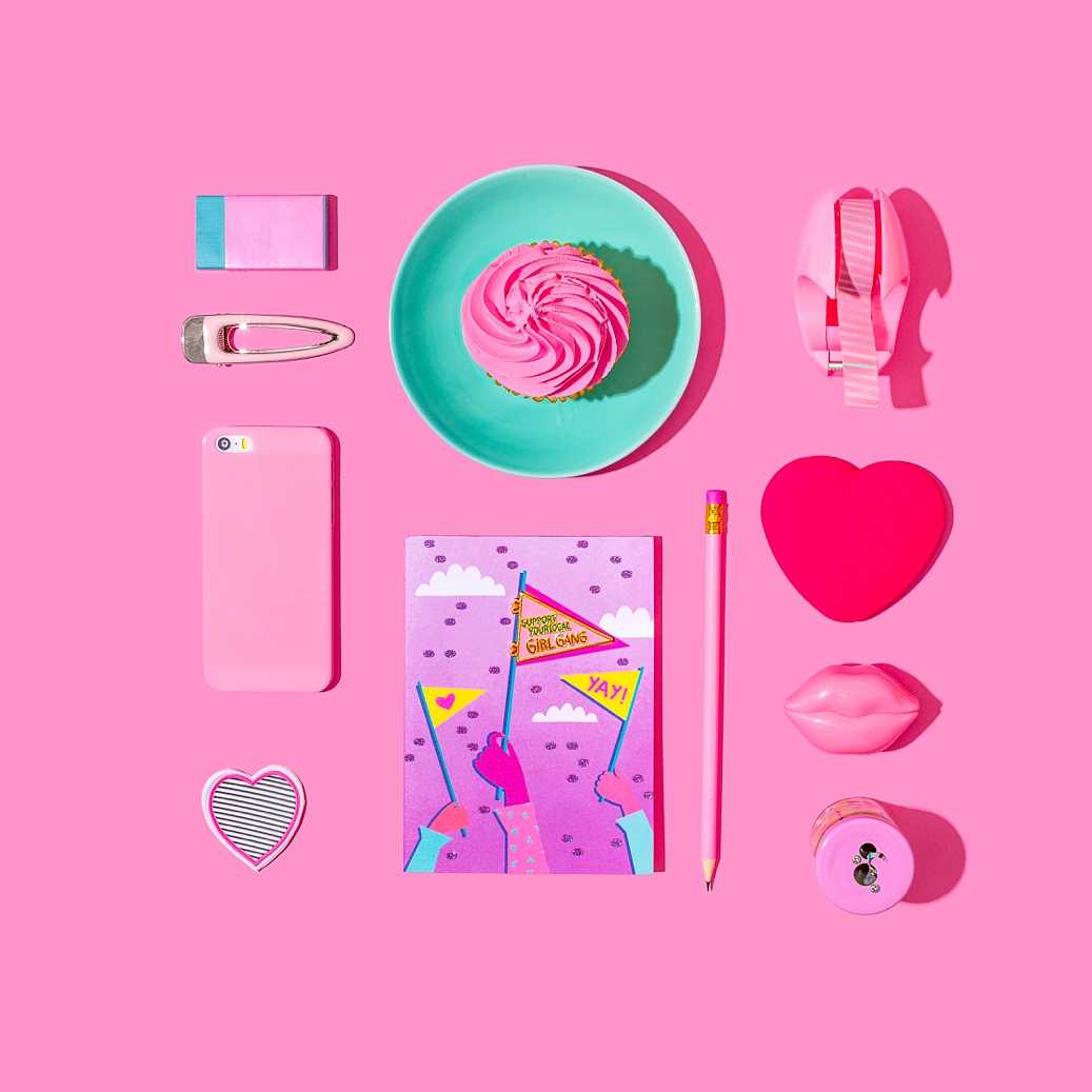 Colourful product photography and content creation for Papyrus by Marianne Taylor.