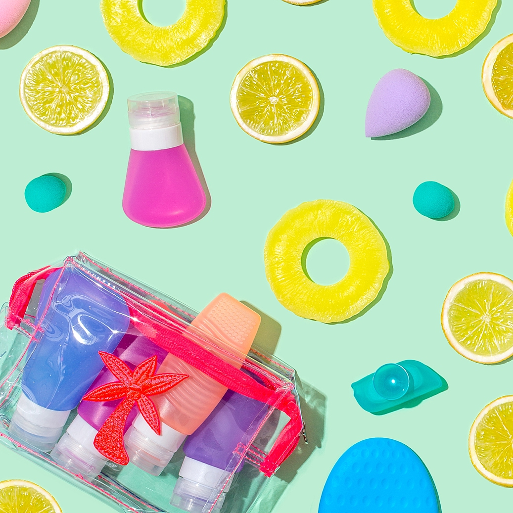 Colourful product photography and content creation for Emma Lomax by Marianne Taylor.