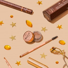 Colourful product photography and content creation for 4ever Magic cosmetics by Marianne Taylor.