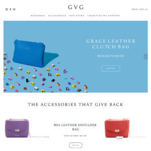 GVG accessories website still imagery by Marianne Taylor.
