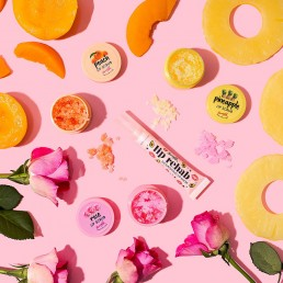 Colourful content creation for Barry M cosmetics. Styled beauty product stills photography by Marianne Taylor.