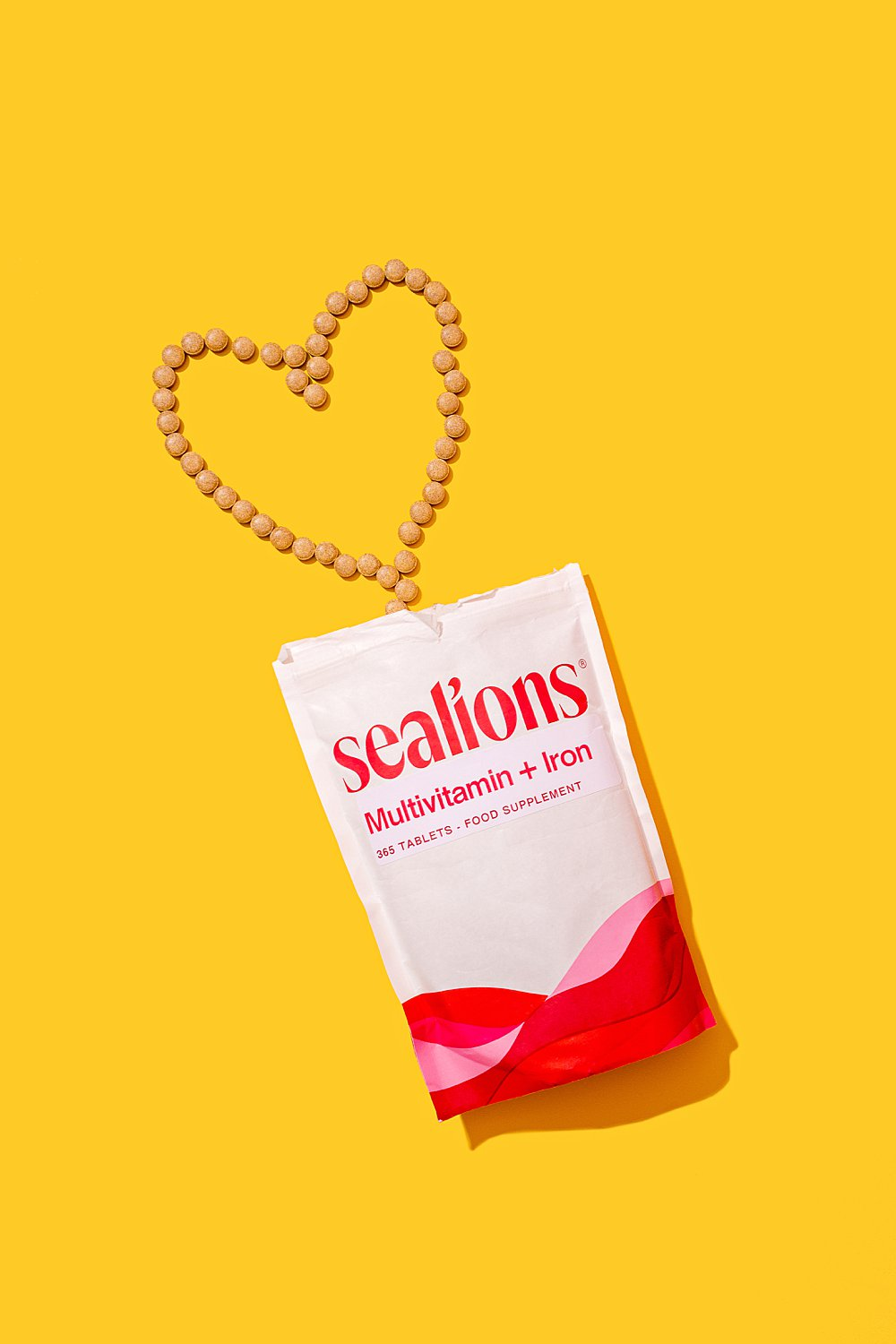 Colourful content creation for the launch of Sealions vitamin brand. Styled health product stills photography by Marianne Taylor.