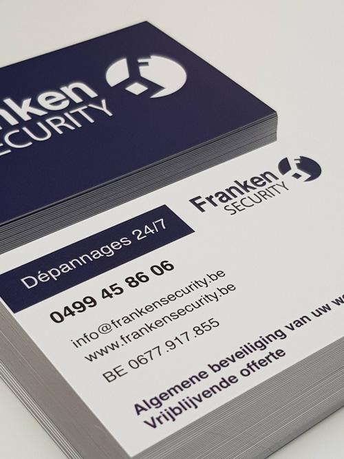business card franken security