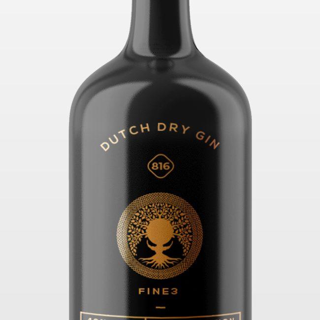 logodesign mockup gin