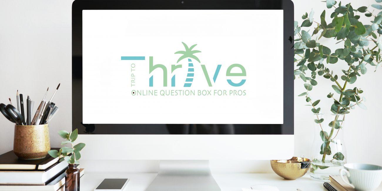 logodesign trip to thrive