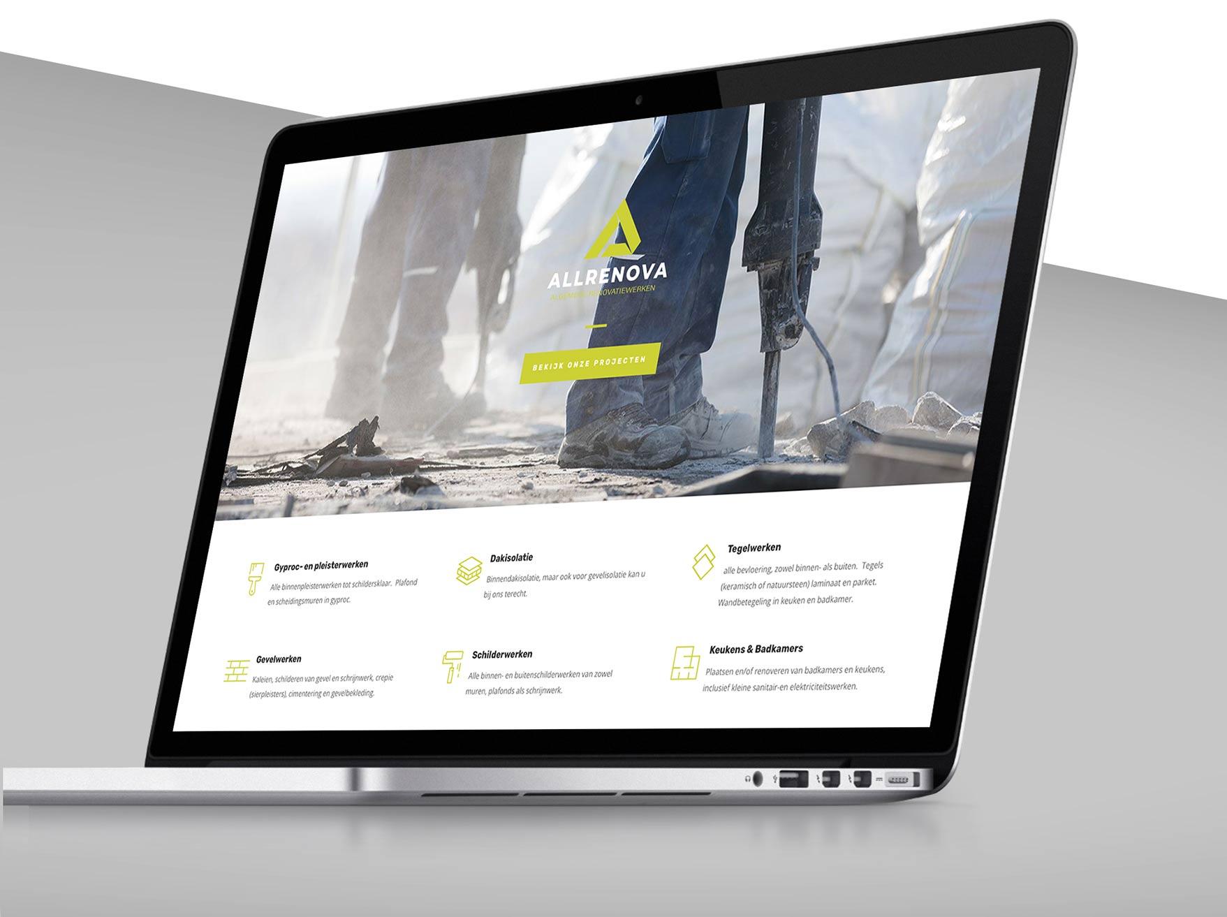 mark-up-gent-webdesign-allrenova-macbookpro