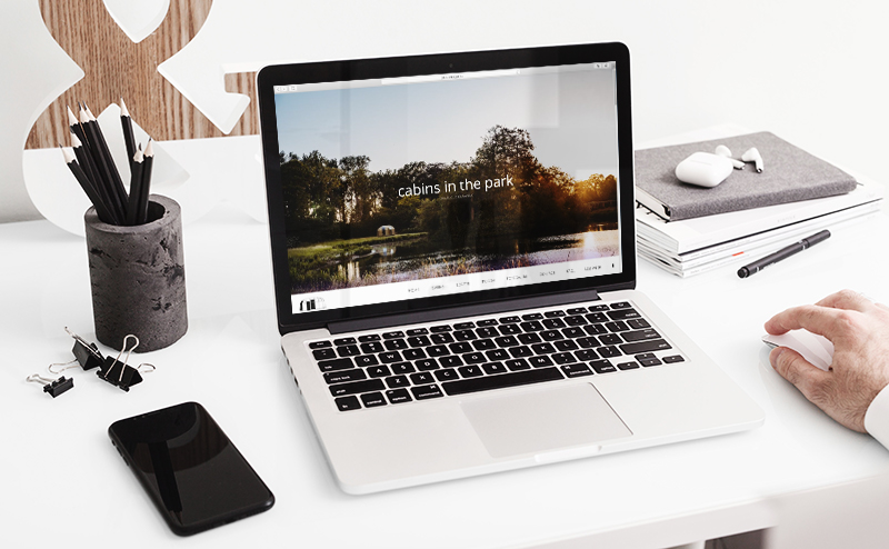 mark-up-presentatie-webdesign-cabinsinthepark