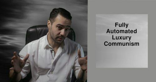 Møde med Aaron Bastani & studiekreds: Fully Automated Luxury Communism