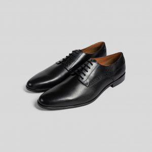 Chaussures de costume en cuir lisse