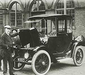 First electric car