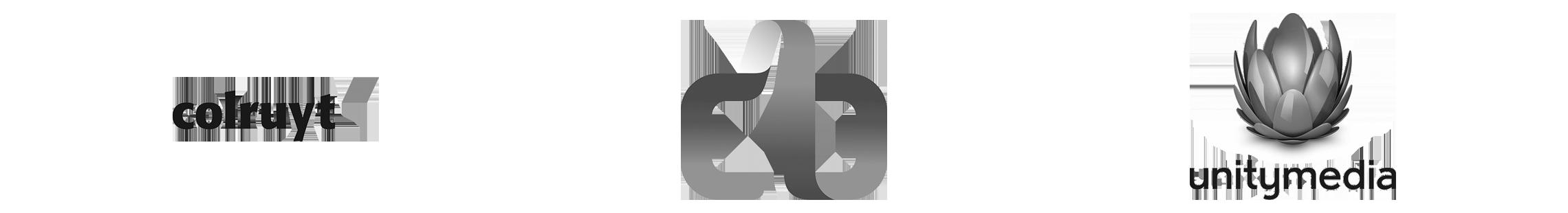 Mediaan's customers logos