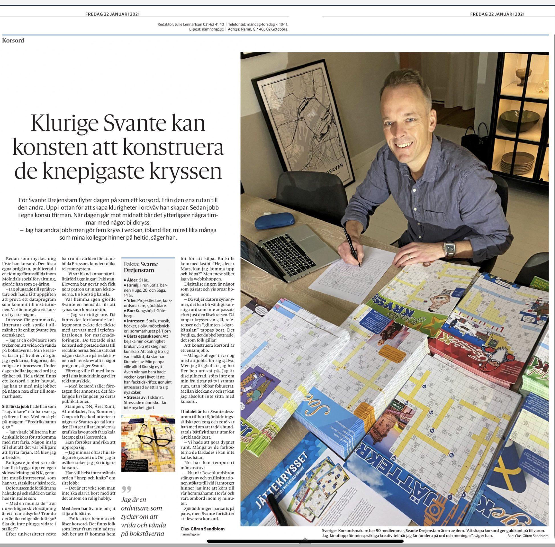 Svante i Göteborgs-Posten