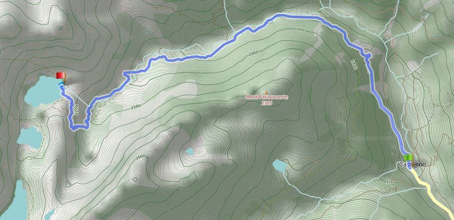 Route Casterino - Refuge de Valmasque