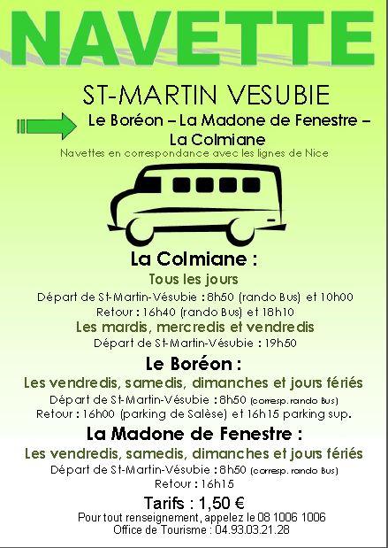 Navettes van-en-naar Saint-Martin