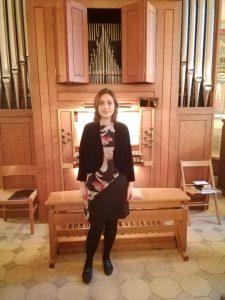 Organist og korleder Svetlana Langhoff