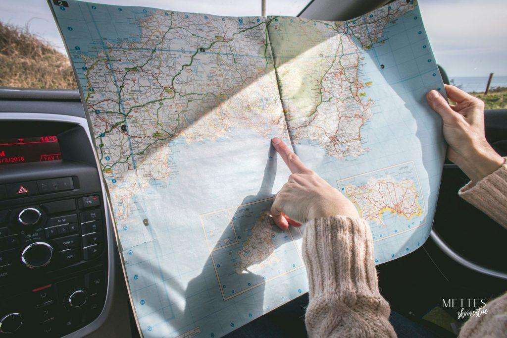 Reiselykkes reiseguider illustrasjon