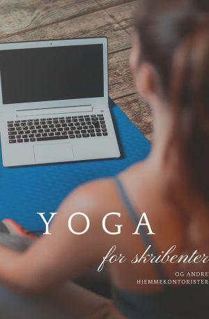 Yoga for skribenter_produktbilde