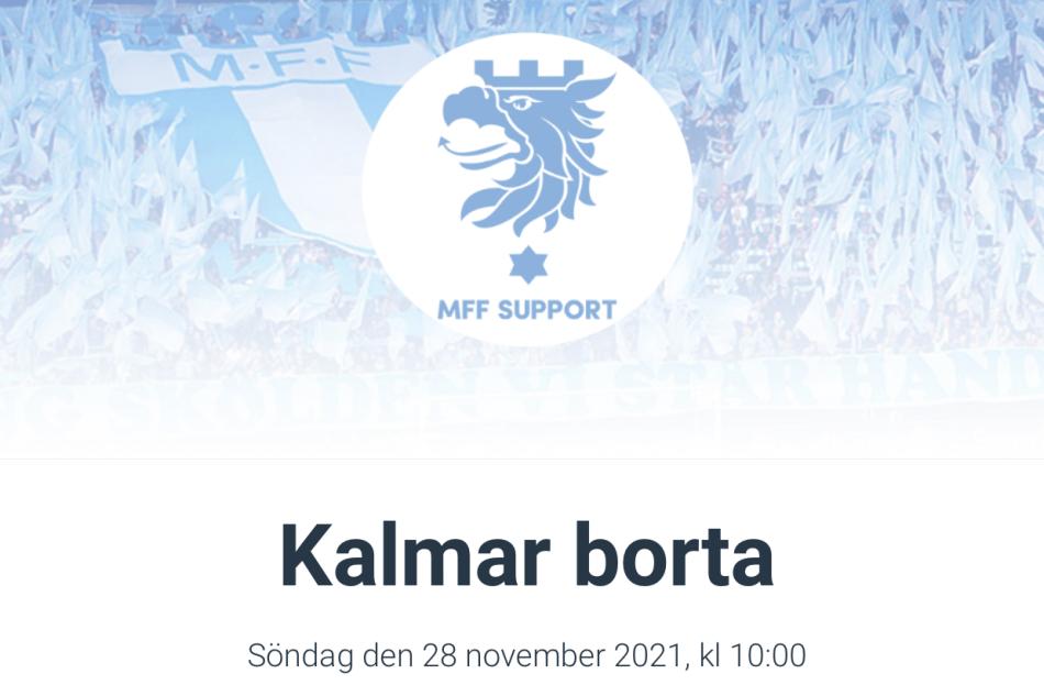 Res med MFF Support till Kalmar