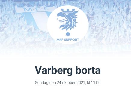 Res med MFF Support till Varberg
