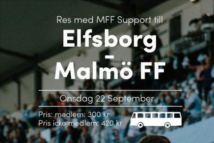 Res med MFF Support till Borås