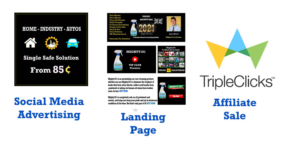 Mighty101 Landing Page, splash page,