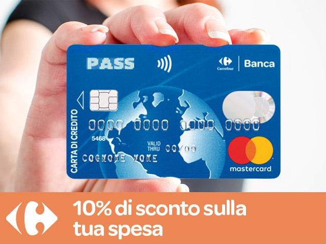 carta-pass-cos-è Carta Pass Carrefour: recensione, opinioni e costi