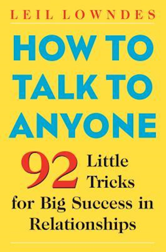 how to talk to anyone bog om at at føre en interessant samtale med alle