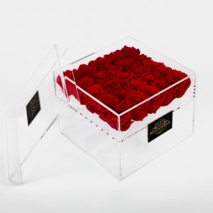 Infinity Box with Red Rose | Millionbox.se
