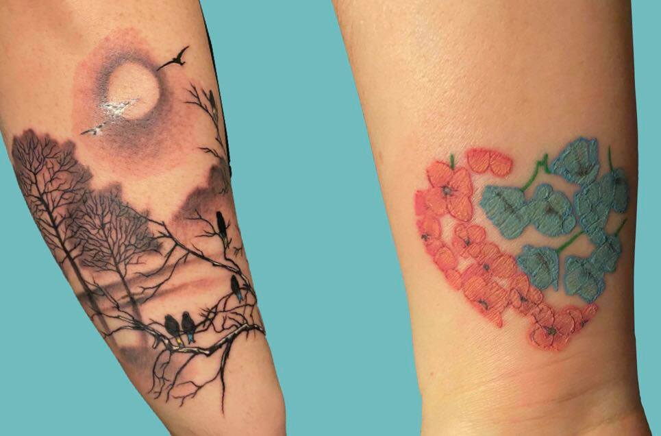 Miscarriage memorial tattoos