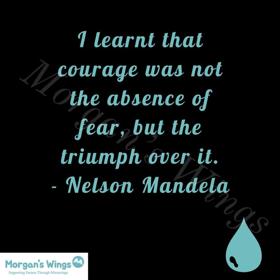 I learned that courage was not the absence of fear, but the triumph over it. Nelson Mandela