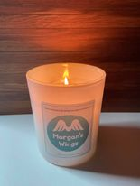 Morgans Wings candle