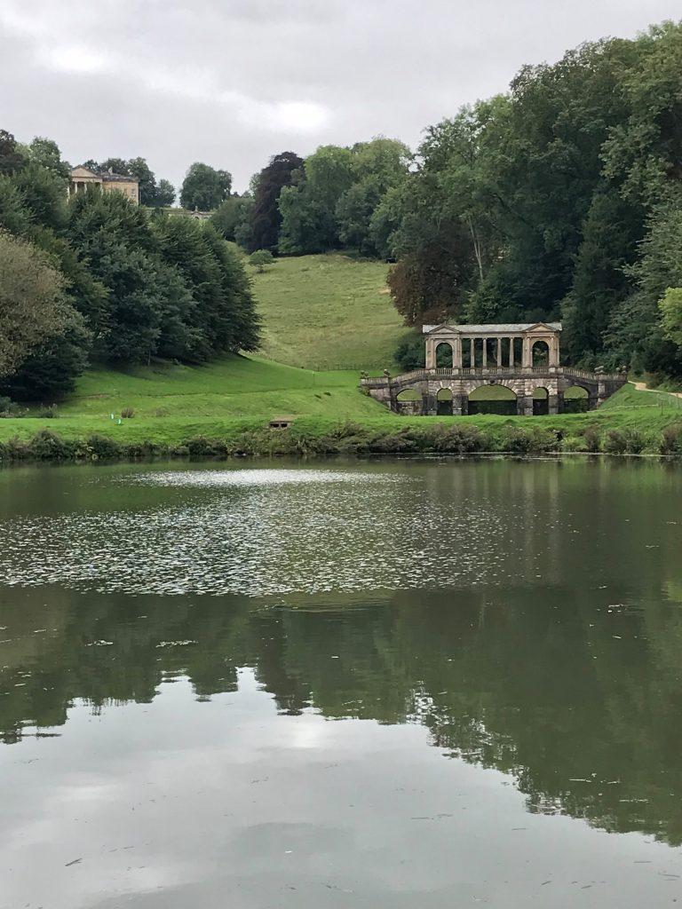 An image of a lake and bridge