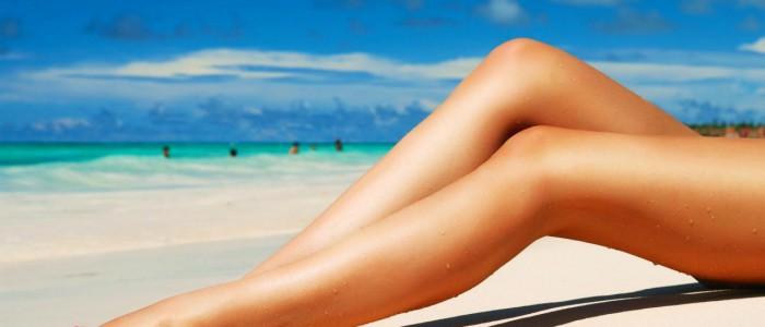 mooie lange benen