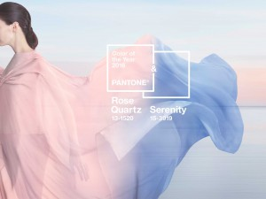 Pantone - Quartz Roze - kleur van het jaar 2016 - sjaal