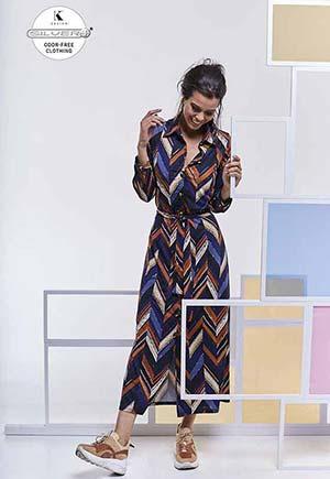 K-design: maxi-dress