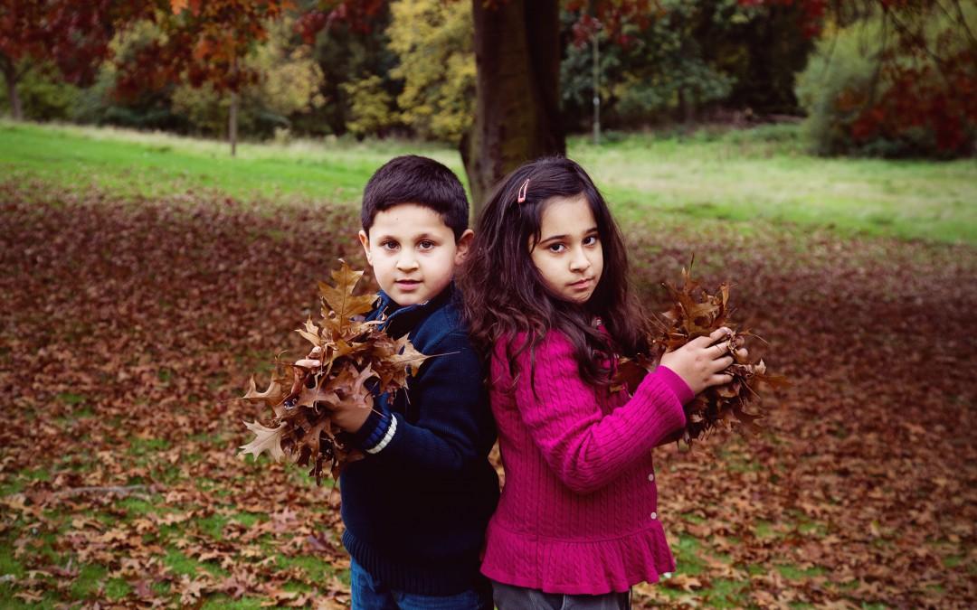 Autumn Mini Family Photo Shoots in North London