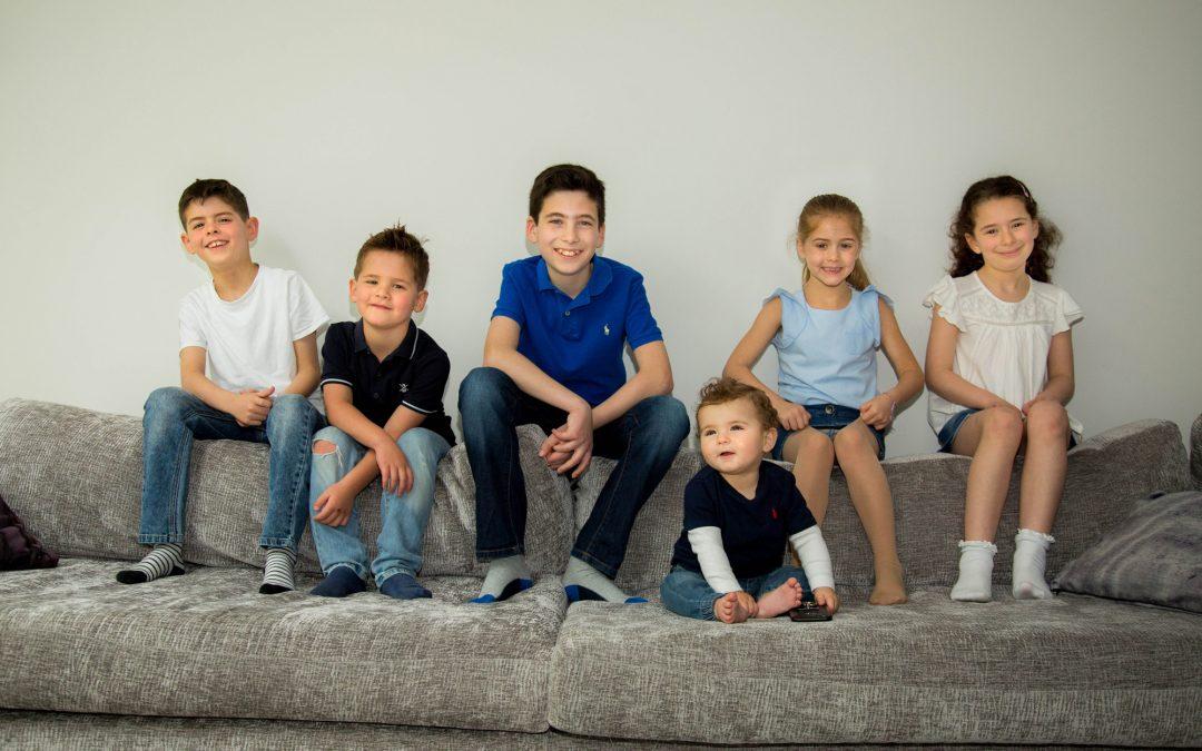 grandchildren photo shoot in Radlett hertfordshire