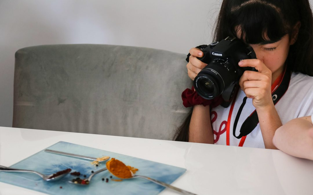 Teaching Abstract Photography to children
